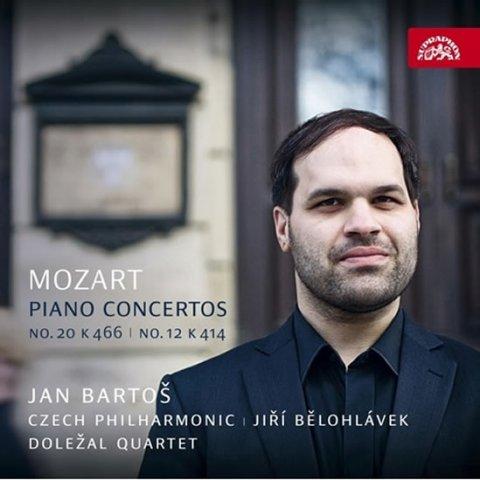 Bartoš Jan: Mozart: Klavírní koncerty - CD