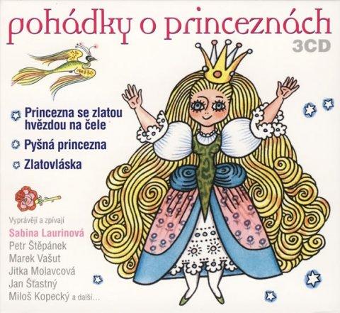 Různí interpreti: Pohádky o princeznách - 3CD