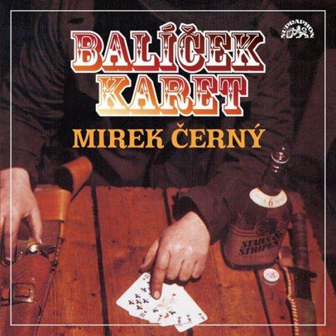 Černý Mirek: Balíček karet - CD