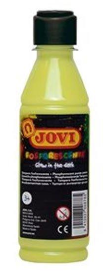 neuveden: JOVI temperová barva neónová 250ml v lahvi žlutá