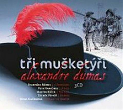 Dumas Alexandre: Tři mušketýři - 3 CD