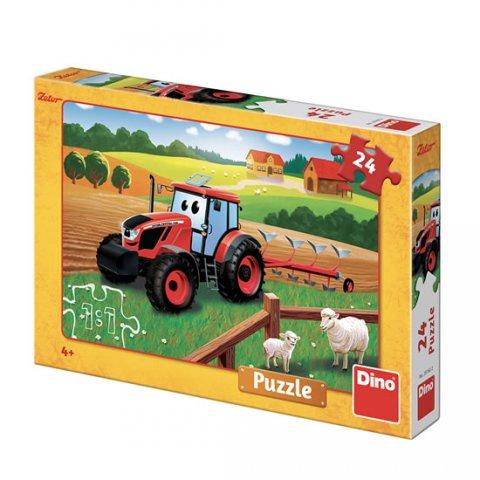 neuveden: Zetor - orba: puzzle 24 dílků
