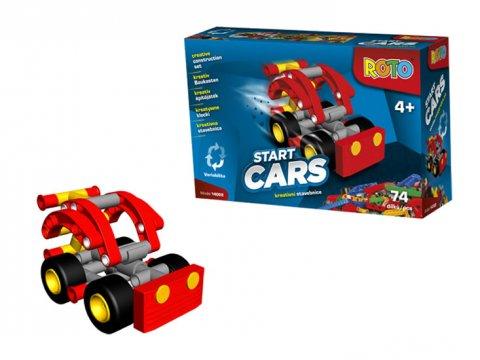 neuveden: ROTO - Start Cars/kreativní stavebnice (74 dílků)