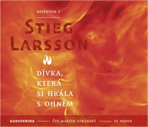 Larsson Stieg: Dívka, která si hrála s ohněm - Milénium 2 - 2CD mp3