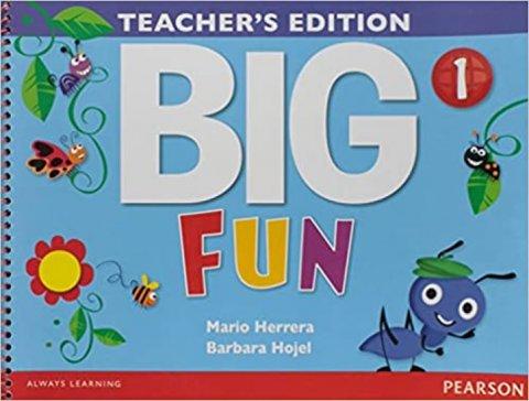 Herrera Mario, Hojel Barbara: Big Fun 1 Teacher´s Edition