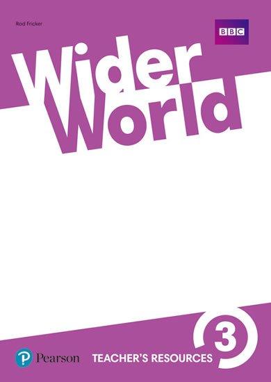 Fricker Rod: Wider World 3 Teacher´s Resource Book