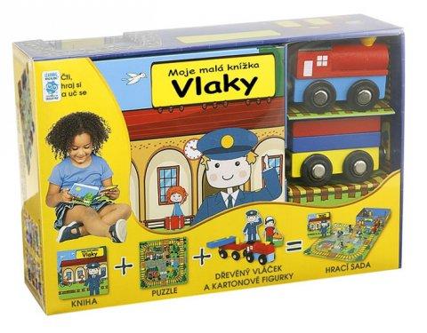 neuveden: Vlaky - Moje malá knížka