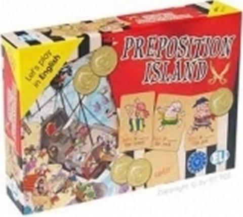 kolektiv autorů: Let´s Play in English: Preposition Island