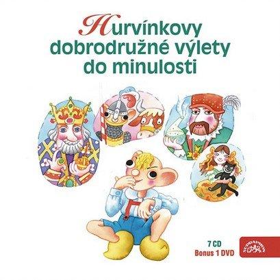 neuveden: Hurvínkovy dobrodružné výlety - S+H 7CD + DVD