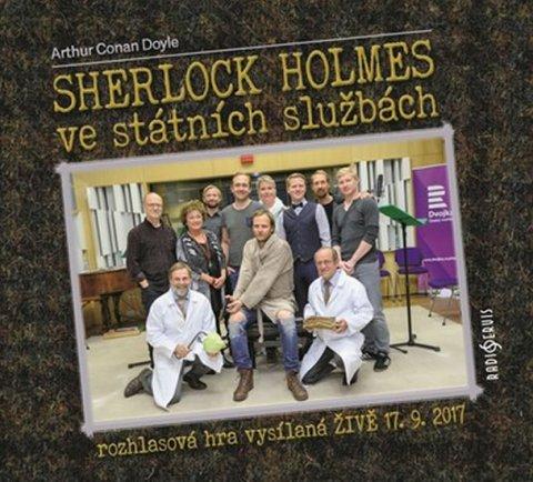 Doyle Arthur Conan: Sherlock Holmes ve státních službách - CDmp3
