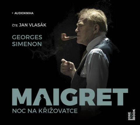 Simenon Georges: Maigret – Noc na křižovatce - CDmp3 (Čte Jan Vlasák)