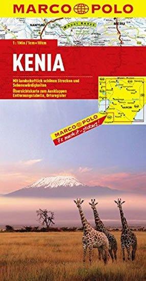 neuveden: Keňa / mapa
