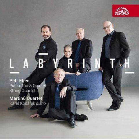 Kvarteto Martinů, Košárek Karel,: Eben: Smyčcový kvartet, Klavírní trio - CD