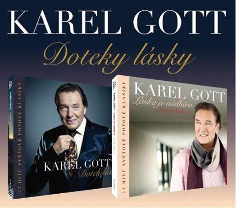 Gott Karel: Karel Gott - Doteky lásky - 2CD