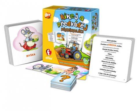 neuveden: Říkej a předváděj PŘEDŠKOLÁCI: Říkanky s obrázky pro předškoláky, hra pro r