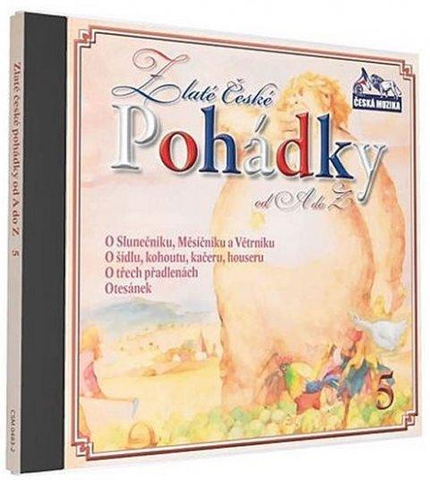 neuveden: Zlaté České pohádky  5. - 1 CD