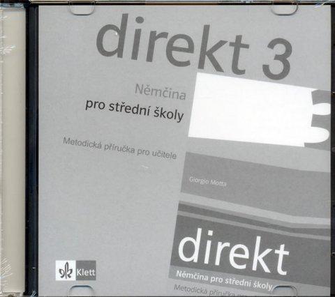 kolektiv: Direkt 3 - Němčina pro SŠ - Metodická příručka pro učitele - CD
