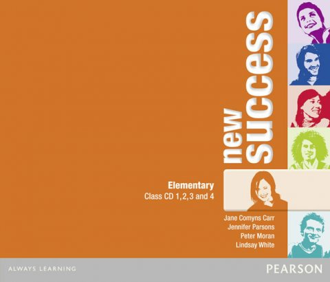White Lindsay: New Success Elementary Class CDs