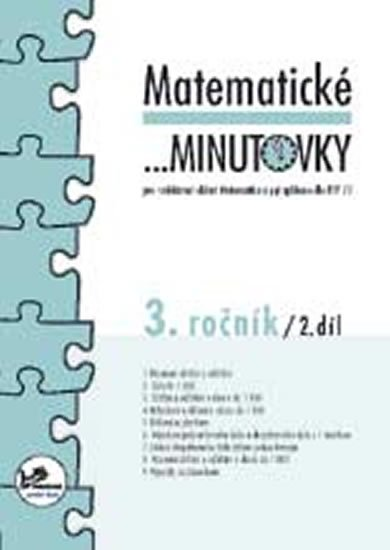 Mikulenková a kolektiv Hana: Matematické minutovky pro 3. ročník/ 2. díl