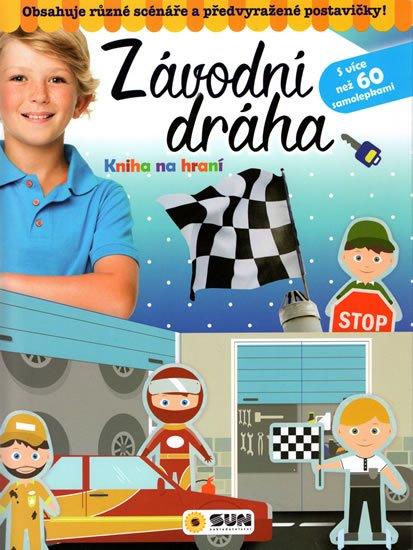 neuveden: Závodní dráha - Kniha na hraní