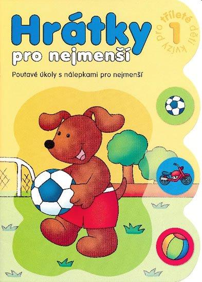 Bator Agnieszka: Hrátky pro tříleté děti 1 část