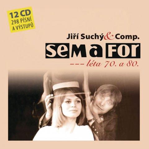 Suchý Jiří, Šlitr Jiří: Semafor - 70. a 80. léta 12CD