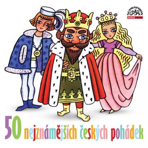 Různí interpreti: 50 nejznámějších českých pohádek - CD