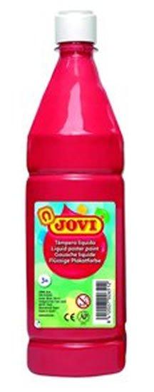 neuveden: JOVI temperová barva 1000ml v lahvi červená