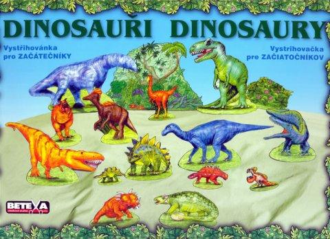 neuveden: Dinosauři - Vystřihovánky pro začátečníky