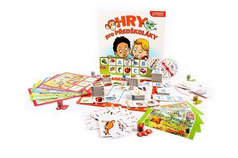 neuveden: Hry pro předškoláky: 11 originálních her a pomůcek