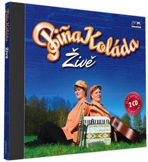neuveden: Piňa Koláda - Živě - 2 CD
