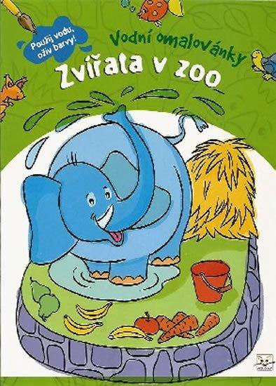 Wierzchowska Barbara: Vodní omalovánky - Zvířata v zoo