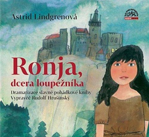 Lindgrenová Astrid: Ronja, dcera loupežníka CD