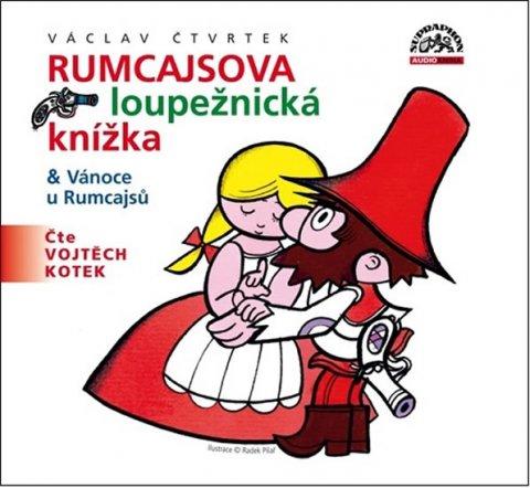 Čtvrtek Václav: Rumcajsova loupežnická knížka - CD