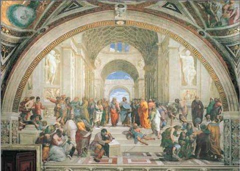 neuveden: Raffaello: Škola v Aténách - Puzzle/1500 dílků