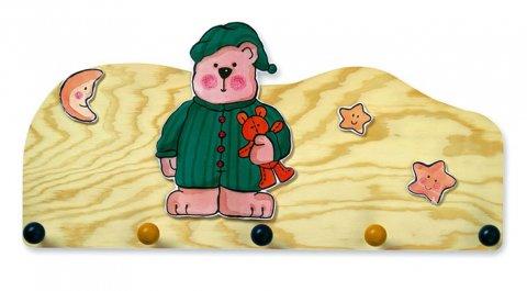 neuveden: Vašák medvěd v zeleném pyžamu - natur
