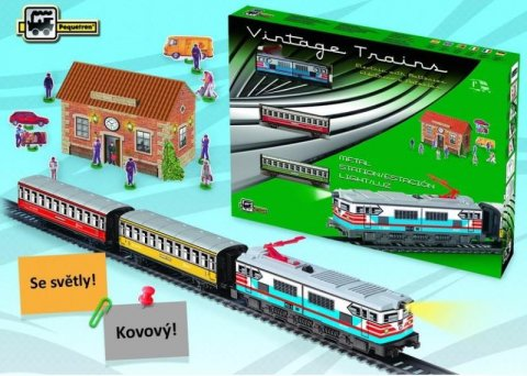 neuveden: Osobní vlak se stanicí
