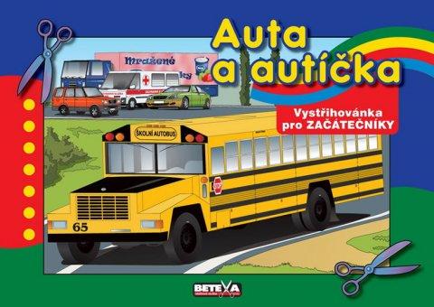 neuveden: Auta a autíčka - Vystřihovánky pro začátečníky