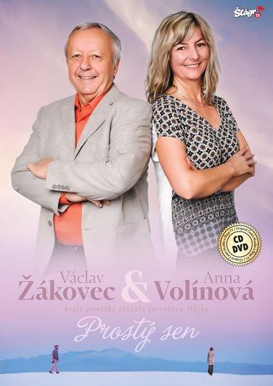 neuveden: Žákovec Volínová - Prostý sen - CD + DVD