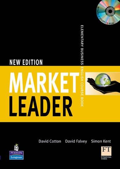 Cotton David: Market Leader Elementary Coursebook w/ Multi-Rom Pack