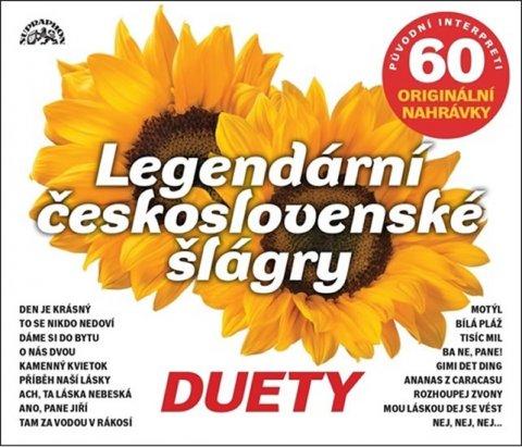 Various: Legendární československé šlágry - 3CD