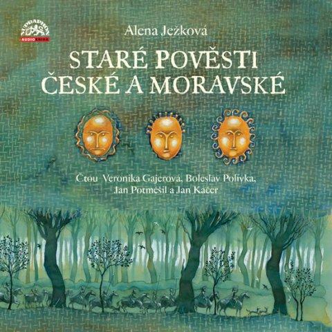 Ježková Alena: Staré pověsti české a moravské - 3 CD (Čtou Bolek Polívka, Jan Kačer, Jan P