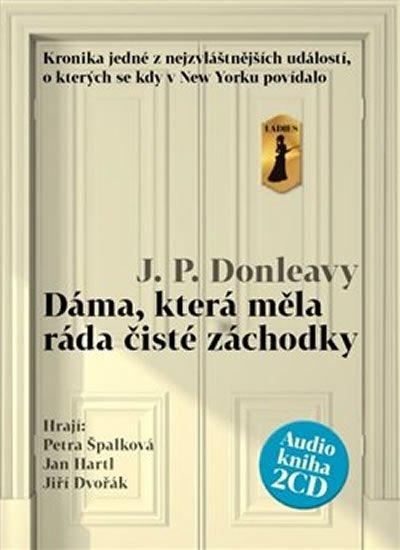 Donleavy J.P.: Dáma, která měla ráda čisté záchodky - 2CDmp3