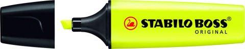 neuveden: Zvýrazňovač STABILO BOSS ORIGINAL žlutý