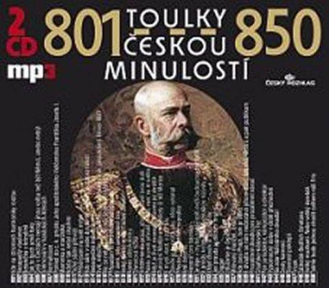 kolektiv autorů: Toulky českou minulostí 801-850 - 2CD/mp3