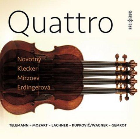 neuveden: Quattro: Telemann-Mozart-Lachner-Kupkovič/Wagner-Gemrot - CDmp3