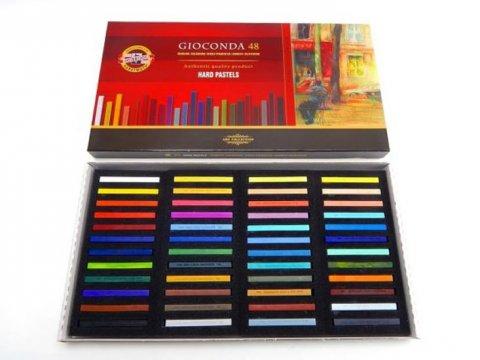 neuveden: Koh-i-noor křídy (pastely) olejové umělecké GIOCONDA souprava 48 ks
