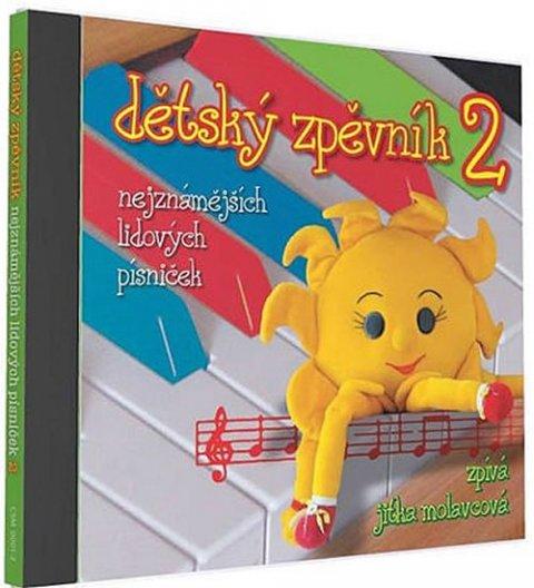 neuveden: Dětský zpěvník 2 - 1 CD