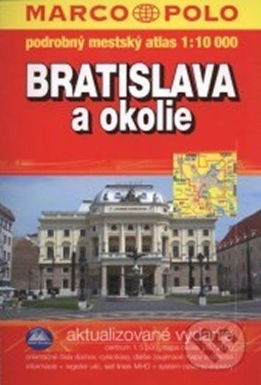 neuveden: Bratislava a okolie atlas 1:10T MSLO
