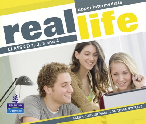 Cunningham Sarah: Real Life Global Upper Intermediate Class CDs 1-4